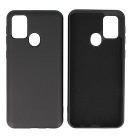 Samsung Galaxy M31 Hoesje Fashion Backcover Telefoonhoesje Zwart