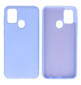 Fashion Color Backcover Hoesje Samsung Galaxy M31 Paars
