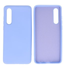 Fashion Color Backcover Hoesje Huawei P30 Paars