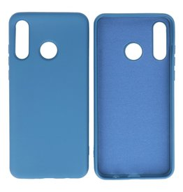 Fashion Color Backcover Hoesje Huawei P30 Lite Navy