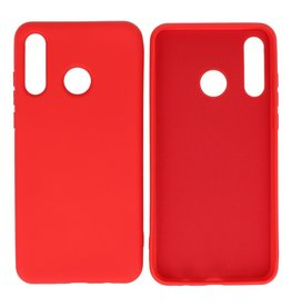 Fashion Color Backcover Hoesje Huawei P30 Lite Rood