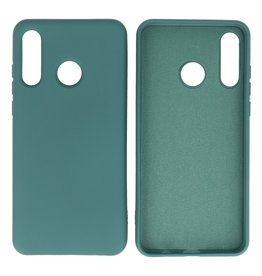 Fashion Color Backcover Hoesje Huawei P30 Lite Donker Groen