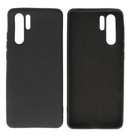 Huawei P30 Pro Hoesje Fashion Backcover Telefoonhoesje Zwart