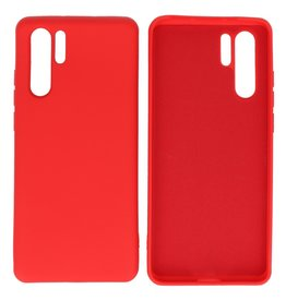 Fashion Color Backcover Hoesje Huawei P30 Pro Rood