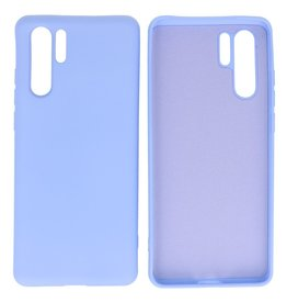 Fashion Color Backcover Hoesje Huawei P30 Pro Paars
