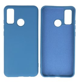 Fashion Color Backcover Hoesje Huawei P Smart 2020 Navy