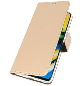 Booktype Telefoonhoesje Samsung Galaxy A21 Goud