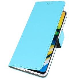 Booktype Telefoonhoesje OnePlus 8 Blauw