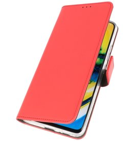 Booktype Telefoonhoesje OnePlus 8 Rood