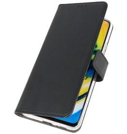 Booktype Telefoonhoesje Oppo Find X2 Zwart