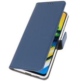 Booktype Telefoonhoesje Oppo Find X2 Lite Navy