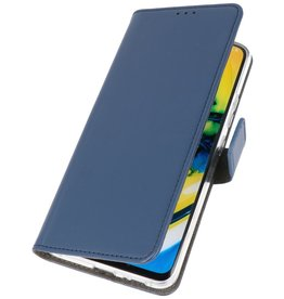 Booktype Telefoonhoesje Oppo Find X2 Neo Navy
