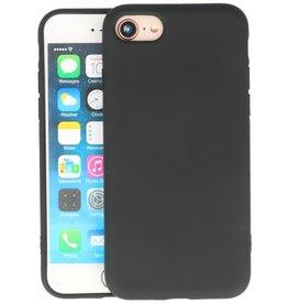 iPhone SE 2020 & iPhone 8 & iPhone 7 Hoesje Fashion Backcover Telefoonhoesje Zwart