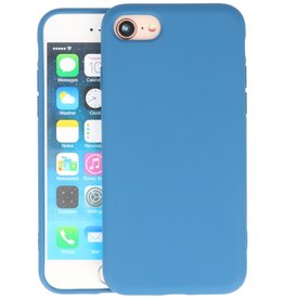 Fashion Color Backcover Hoesje iPhone SE 2020 / 8 / 7 - Navy
