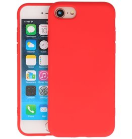 iPhone SE 2020 & iPhone 8 & iPhone 7 Hoesje Fashion Backcover Telefoonhoesje Rood