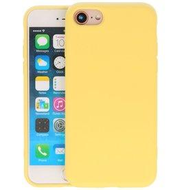 iPhone SE 2020 & iPhone 8 & iPhone 7 Hoesje Fashion Backcover Telefoonhoesje Geel