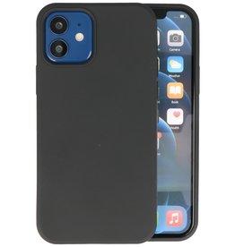 iPhone 12 Mini Hoesje Fashion Backcover Telefoonhoesje Zwart