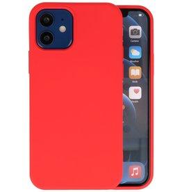 Fashion Color Backcover Hoesje iPhone 12 Mini - Rood