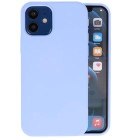 iPhone 12 Mini Hoesje Fashion Backcover Telefoonhoesje Paars