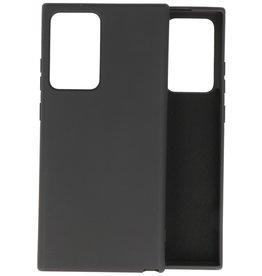 Samsung Note 20 Ultra Hoesje Fashion Backcover Telefoonhoesje Zwart