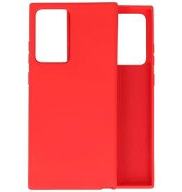 Samsung Note 20 Ultra Hoesje Fashion Backcover Telefoonhoesje Rood