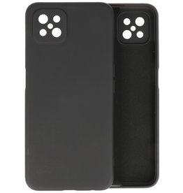 Oppo Reno 4 Z & Oppo A92s Hoesje Fashion Backcover Telefoonhoesje Zwart