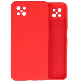 Fashion Color Backcover Hoesje Oppo Reno 4 Z - A92s - Rood