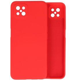 Oppo Reno 4 Z & Oppo A92s Hoesje Fashion Backcover Telefoonhoesje Rood