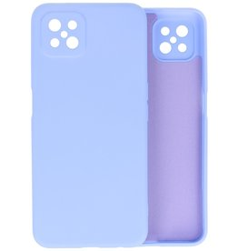 Fashion Color Backcover Hoesje Oppo Reno 4 Z - A92s - Paars