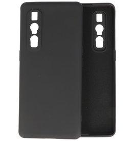Oppo Find X2 Pro Hoesje Fashion Backcover Telefoonhoesje Zwart