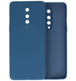 Fashion Color Backcover Hoesje OnePlus 8 - Navy