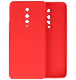 Fashion Color Backcover Hoesje OnePlus 8 - Rood