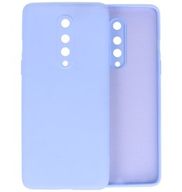 Fashion Color Backcover Hoesje OnePlus 8 - Paars