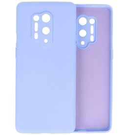 Fashion Color Backcover Hoesje OnePlus 8 Pro - Paars