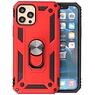 Backcover Hoesje - Telefoonhoesje met Ring Houder iPhone 12 Pro Max - Rood