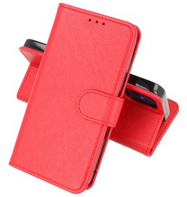 Bookstyle Wallet Cases Hoesje iPhone 12 mini - Rood