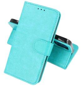 iPhone 12 Mini Hoesje Kaarthouder Book Case Telefoonhoesje Groen