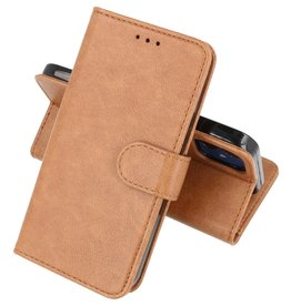 Bookstyle Wallet Cases Hoesje iPhone 12 mini - Bruin