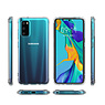 Schokbestendig Back Cover Hoesje Samsung Galaxy S20 FE Transparant