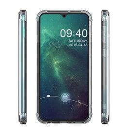 Schokbestendig Back Cover Hoesje Samsung Galaxy A12 Transparant