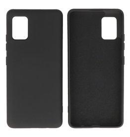 Samsung Galaxy A51 5G Hoesje Fashion Backcover Telefoonhoesje Zwart