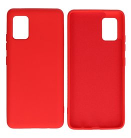 Fashion Color Backcover Hoesje Samsung Galaxy A51 5G Rood