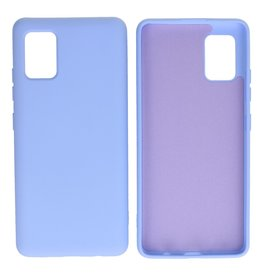 Fashion Color Backcover Hoesje Samsung Galaxy A51 5G Paars