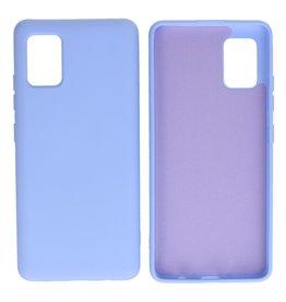 Samsung Galaxy A51 5G Hoesje Fashion Backcover Telefoonhoesje Paars