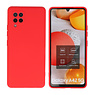Fashion Color Backcover Hoesje Samsung Galaxy A42 5G Rood