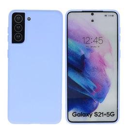 Samsung Galaxy S21 Plus Hoesje Fashion Backcover Telefoonhoesje Paars