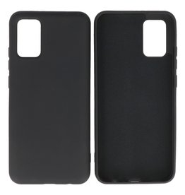 Samsung Galaxy A02s Hoesje Fashion Backcover Telefoonhoesje Zwart