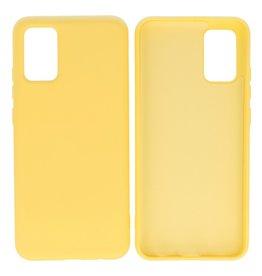Samsung Galaxy A02s Hoesje Fashion Backcover Telefoonhoesje Geel