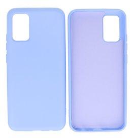 Samsung Galaxy A02s Hoesje Fashion Backcover Telefoonhoesje Paars