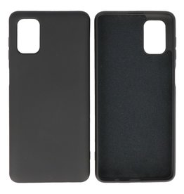Fashion Color Backcover Hoesje Samsung Galaxy M51 Zwart